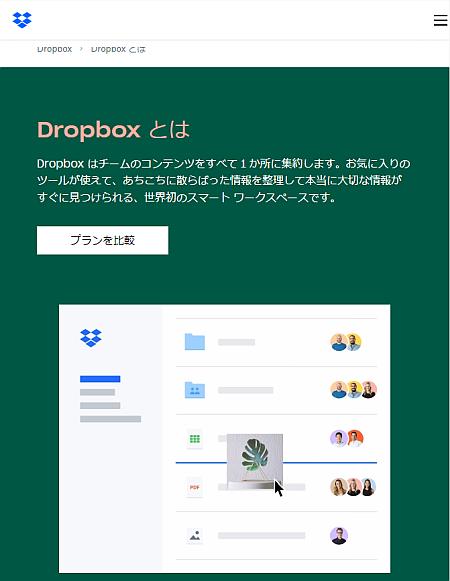 「Dropbox」には月300円で 100GBくらいのプランが欲しい